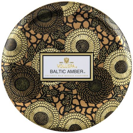 candle brussels voluspa baltic amber