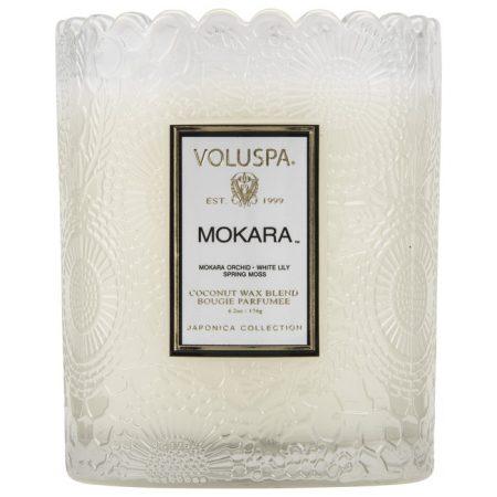 bougie voluspa scalloped Mokara