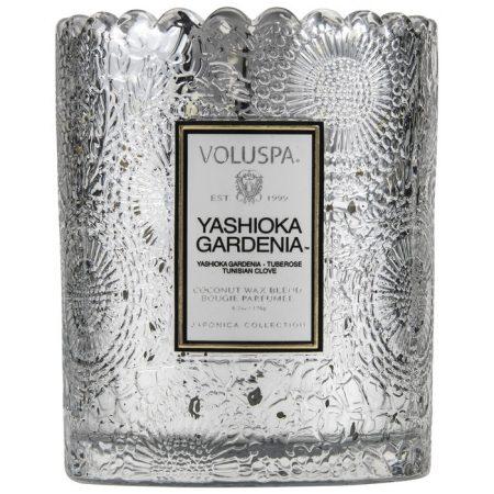 bougie voluspa scalloped yashioka gardenia