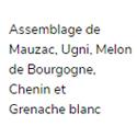 Gudule Vin Blanc – Afterwork en Terrasse – 2018