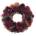 couronne de noël rouge à offrir livraison bruxelles